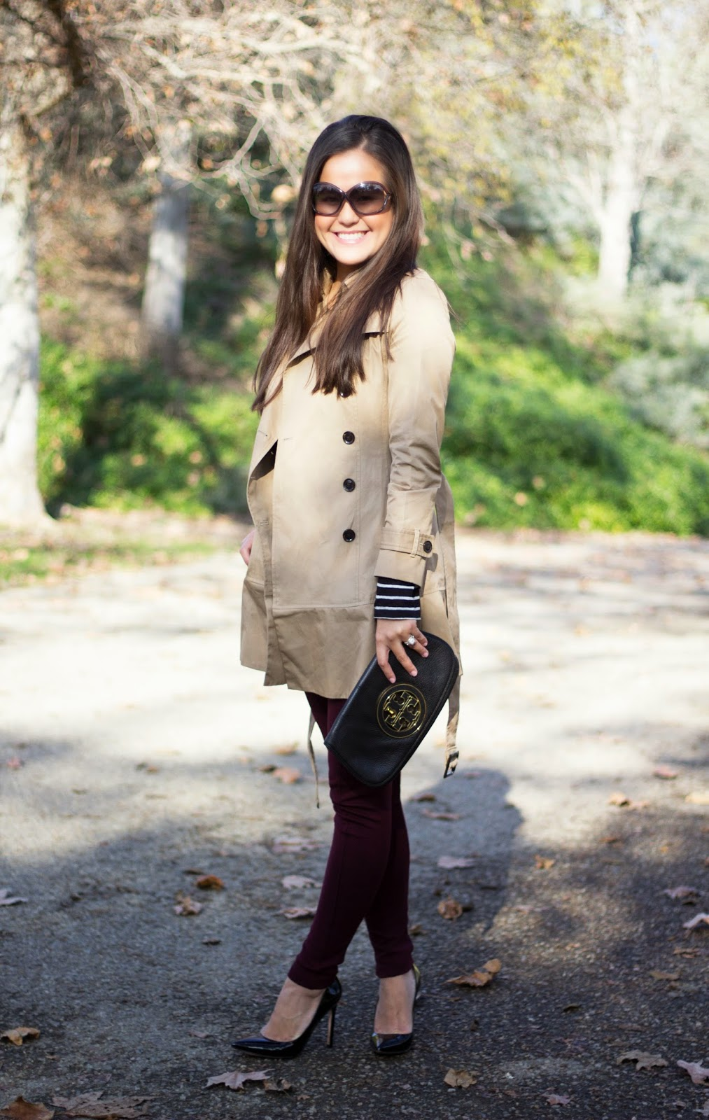 Classic Trench for the Weekend