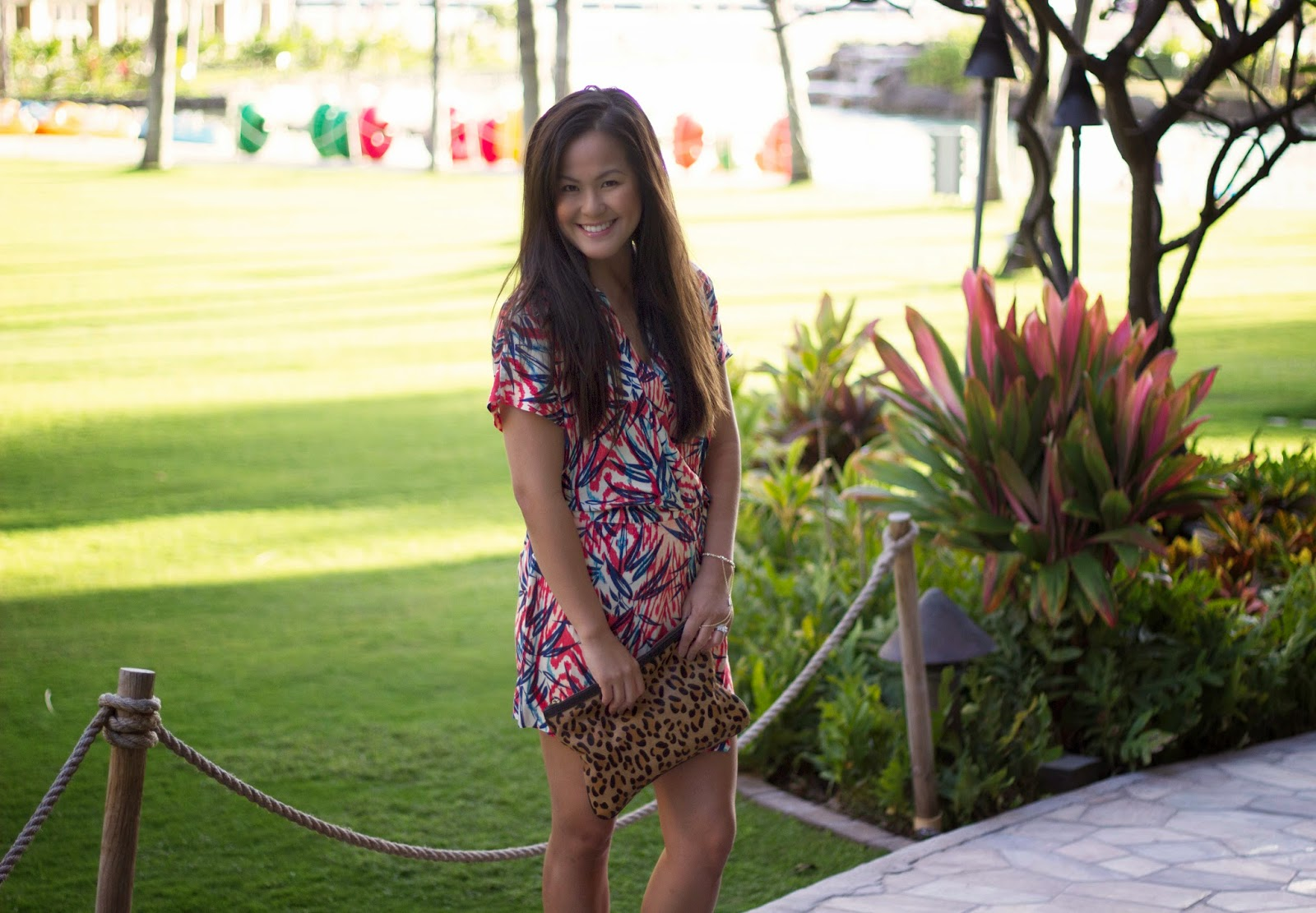 Mixing Prints + 5 Things to do in Oahu