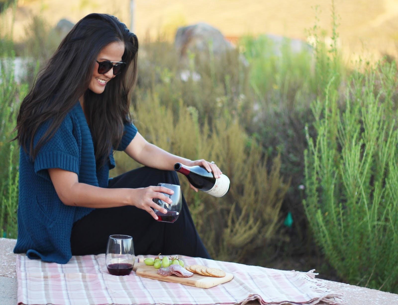Wine Wednesday: Burgundy Pinot Noir {& a fun Giveaway!}