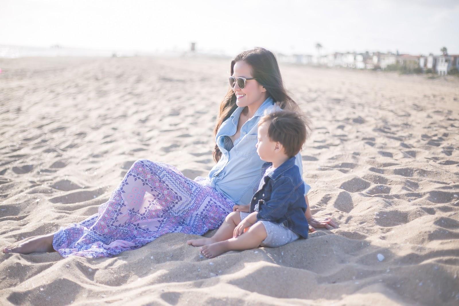 Beach Maxi Skirt