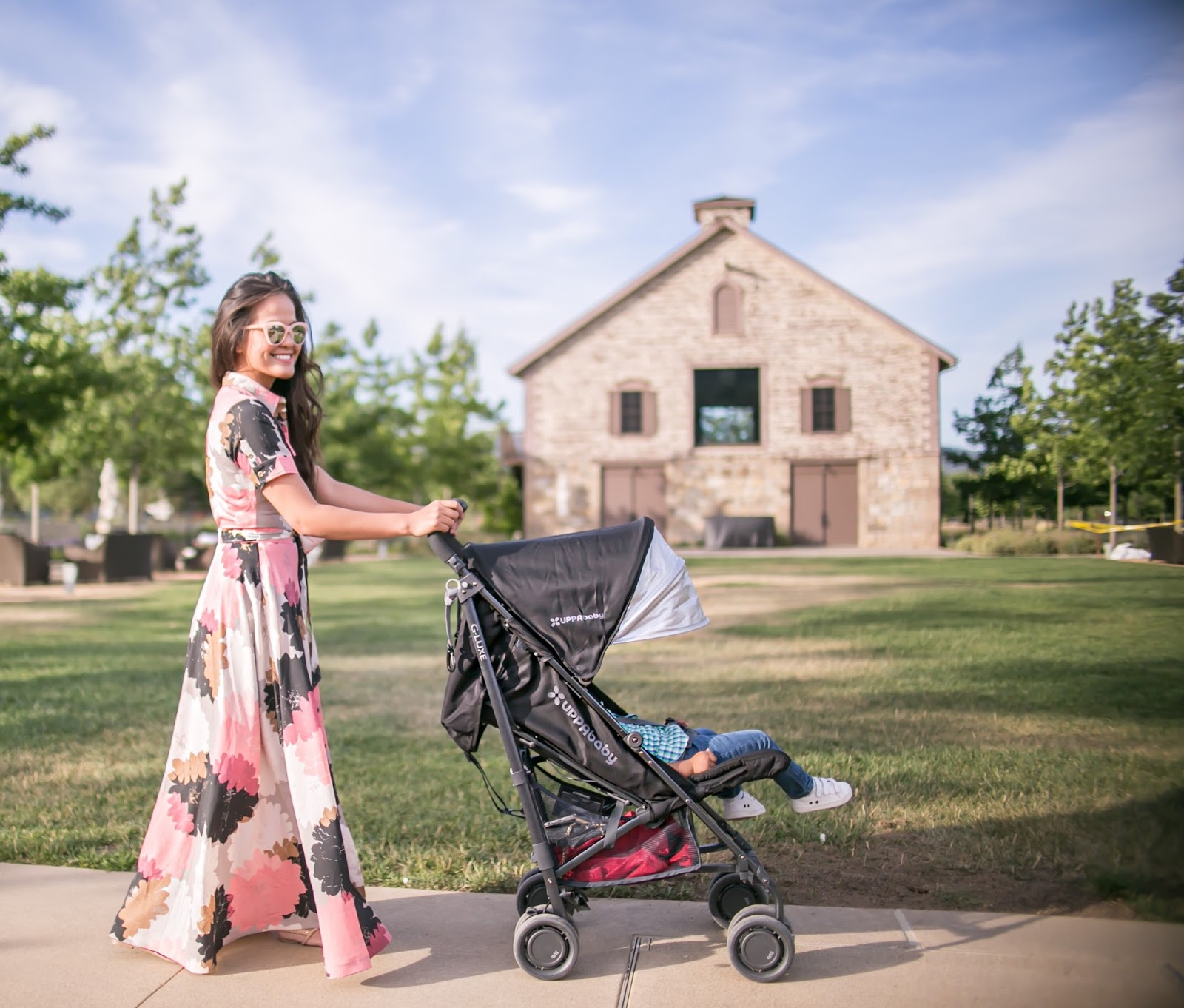 Traveling light with UPPAbaby