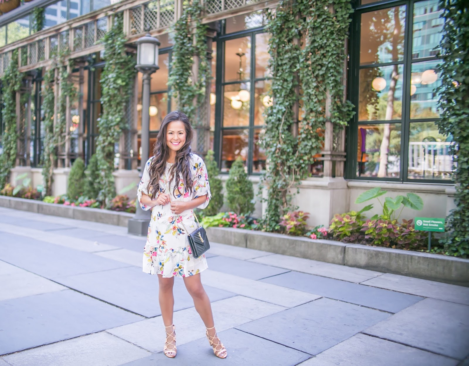 Florals in Bryant Park
